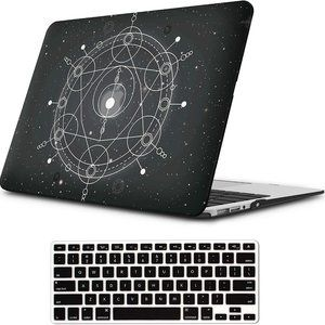 Accessories - Black Geometric Case for MacBook Air 13 inch Prote